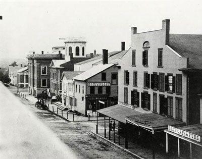 Historic Church Street Blocks Burlington Vermont Vermont