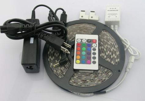 Waterproof 300 Color Changing Smd5050 Led Lighting Strip Kit Rgb