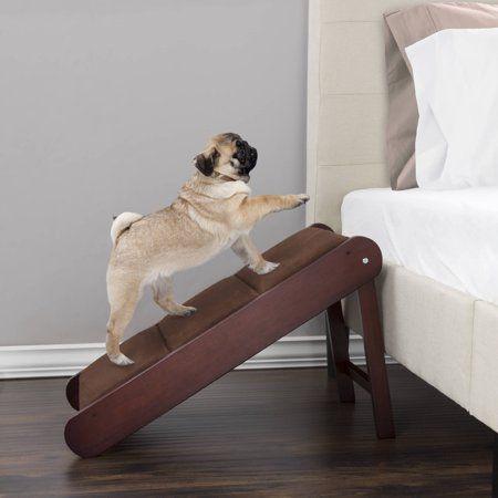 Petmaker Foldable Pet Ramp 18 H Walmart Com Pet Ramp Pet Stairs Dog Ramp