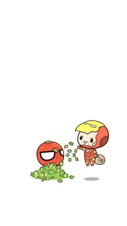 ร ปภาพ Telefon Duvar Kagitlari Marvel Wallpaper Cute Cartoon