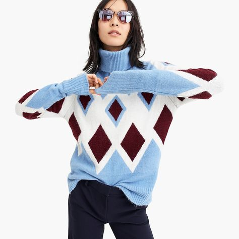 f30c9cfe8b8 Oversized Turtleneck Sweater In Supersoft Yarn