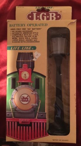 Lamps And Lights 80984 Lgb G Scale Life Like Lighted Street Lamp