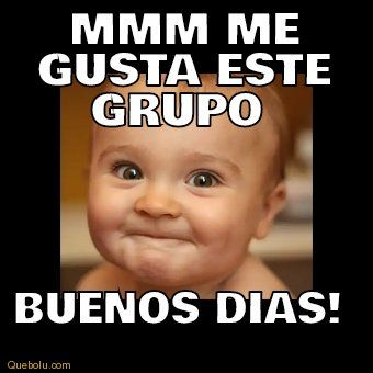 Mmm Lindo Meme Para Dar Los Buenos Dias A Un Grupo De Whatsapp Memes De Buenos Dias Saludos De Buenos Dias Buenos Dias Memes Chistosos