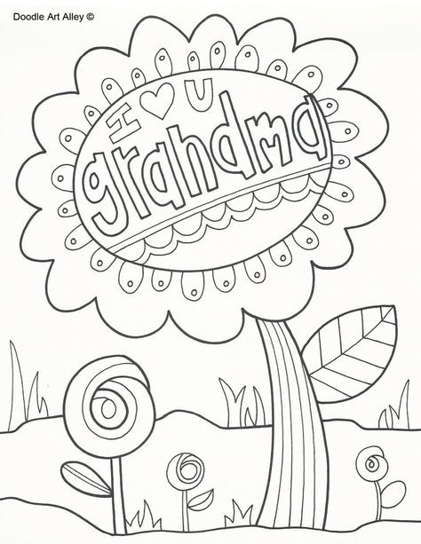 All Kinds Of Printable Coloring Pages Mothers Day Coloring Pages
