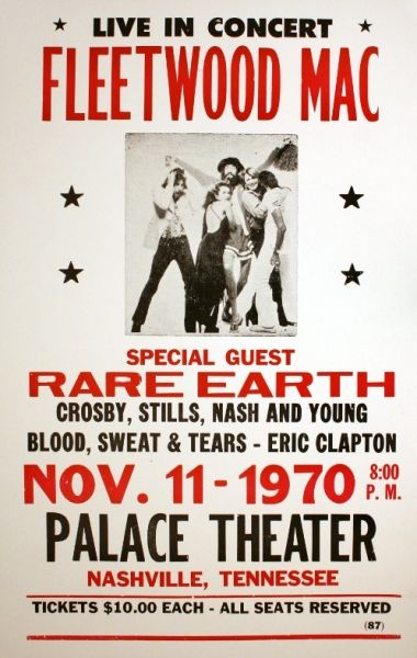 Image Result For Fleetwood Mac 70 S Tour Poster Fleetwood Mac