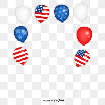 Cartoon Blue Red White Balloon Decoration Cartoon Pattern Balloon Png And Vector With Transparent Background For Free Download White Balloons Balloon Decorations Happy Birthday Wallpaper