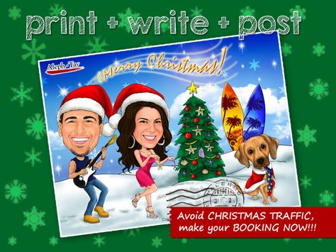 Open For Christmas Orders.Christmas Caricature Open For Booking Now Throug