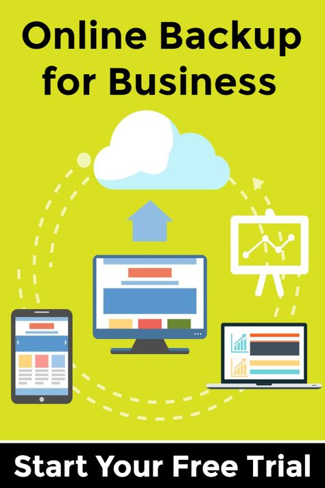 Backup All your Business Data Online - Start a Free Trial Today