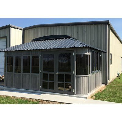Westviewmanufacturing Colorado 12 Ft W X 18 Ft D Wooden Permanent Gazebo With Images Patio Gazebo Garage Door Design Wood Patio