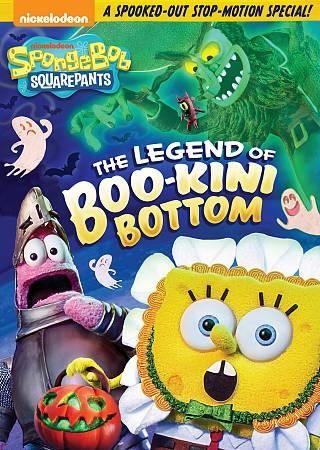 Spongebob Squarepants-legend Of Boo-kini Bottom Dvd - Trivoshop