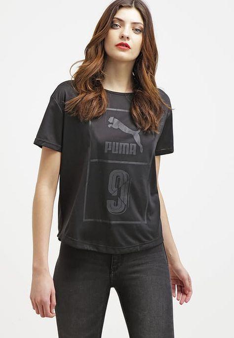 87ddb5be2dd39 Puma Print T-shirt - black Women