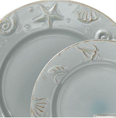 Simple Beach Table with 3 Decor Essentials | Ceramic plates Dinnerware and Coastal & Simple Beach Table with 3 Decor Essentials | Ceramic plates ...