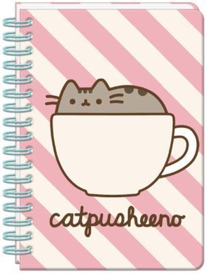 Licensed Pusheen The Cat A5 Notebook Catpusheeno