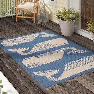 Beach Decor Discover The Best Beach Themed Furniture Area Rugs Accent Decor And Other Coastal Decorati Outdoor Area Rugs Indoor Outdoor Area Rugs Area Rugs