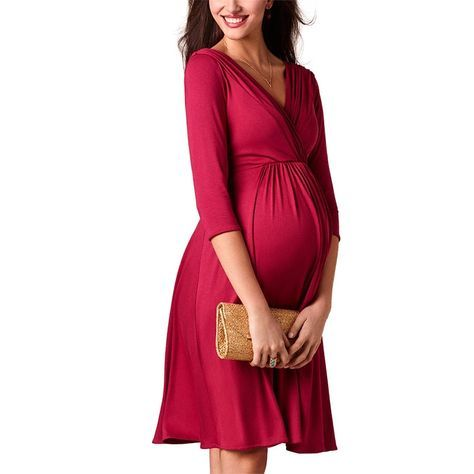 For Sale Breastfeeding Dresses Maternity Clothes For Pregnant Women Clothing Solid V N Maternity Dress Outfits Breastfeeding Dress Clothes For Pregnant Women
