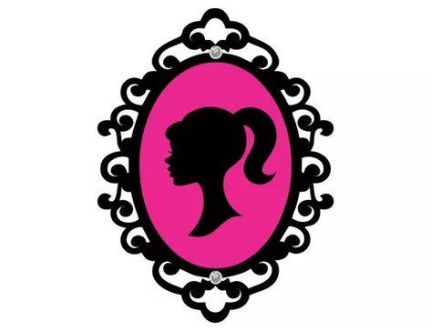 Placa Moldura Arabesco Provençal Barbie Paris Festa 60x45