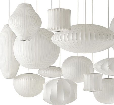 Replica George Nelson Bubble Ball Pendant Lamp Ls69