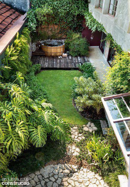 Casa Pátio Com Alma Artes Tijolinhos E Um Jardim Apaixonante
