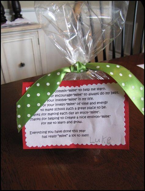 Inexpensive, yet meaningful, teacher gift… - Beneath My Heart