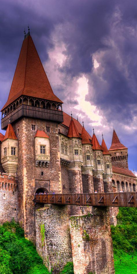 Corvinilor Castle,Transylvania, Romania