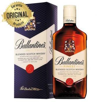 Whisky Escoces Finest Garrafa 750ml Ballantines Alcool