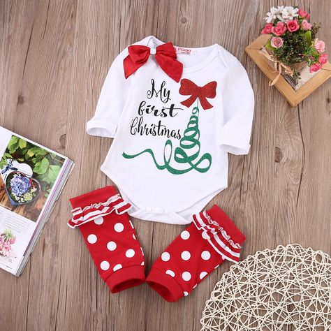 Staron Newborn Baby Boy Clothes 4pcs Set Skull Bowknot Outfits Flower Romper Jumpsuit Pants