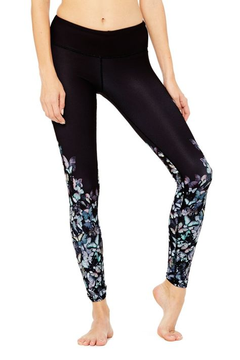 c53608e636e94a Gypset Goddess x Alo Airbrush Legging - Multi Butterfly - Best Sellers -  Featured at ALO Yoga