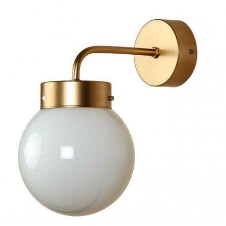 Aplique Pared Atomo Art Deco Metal Dorado Opaco Con Imagenes Deco Art Deco