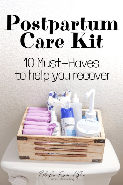 Postpartum Care Kit: Everything You'll Need – Blocker Ever After Recovering after childbirth. Here's a list of supplies you'll need in your Postpartum Care Kit to make your recovery as smooth as possible. Postpartum Belly, Postpartum Care, Postpartum Recovery, Pregnancy Care, After Pregnancy, Post Pregnancy, Pregnancy Checklist, Pregnancy Belly, New Baby Checklist