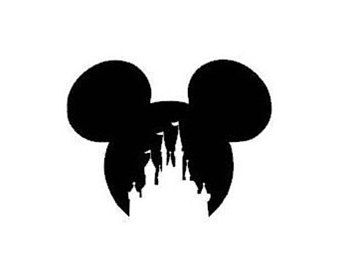 Disney Mickey Mouse Ears Castle Instant Download Svg Png Disney Mickey Mouse Logo