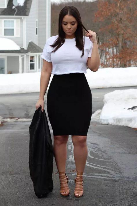 40 nützliche und sexy große Oberschenkel Outfits, Nü