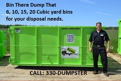From 6 To 20 Cubic Yards And The Ability To Combined Bin Sizes You Will Be Able To Clean Out Remodel Landscape And R Rent A Dumpster Dumpster Parma Heights