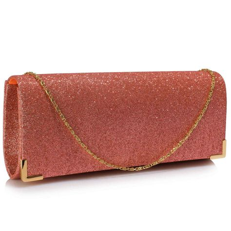 Women/'s Stylish Clutch Bags Ladies Girls Celebrity Style Purse Party Evening Bag