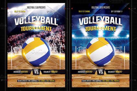 Volleyball Flyer Template By Basez Flyers On Creativemarket Flyer Design Flyertemplates Flyerdesign Graphic Flyer Template Flyer Flyer Design Templates