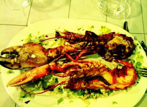 Bogavante Lobster At Terraza De Chicolino A Pobra Do