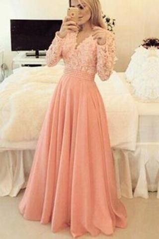Charming Prom Dress Long Sleeve Prom Dress Formal Evening Dress Elegant Evening Prom Dresses Long With Sleeves Dresses Formal Elegant Prom Dresses With Sleeves