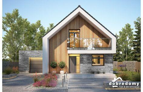 Projekt domu Hiro - Dobre Domy Flak & Abramowicz