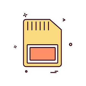 Sim Card Icon Design Vector Card Icons Icon Card Png And Vector With Transparent Background For Free Download Icon Design Credit Card Icon Icon