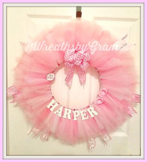 pink Baby Announcement | Baby Name...