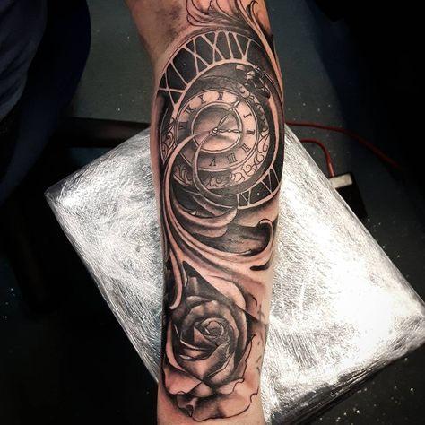Mann tattoo für unterarm Tattoo Unterarm