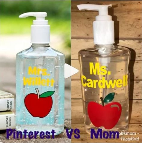 Hand Sanitizer Teacher Gift Teacher Valentine Gifts Teacher