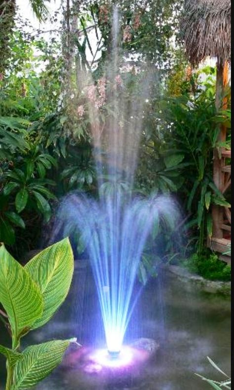 Lighted Fountain Fountains Outdoor Backyard Water Fountains
