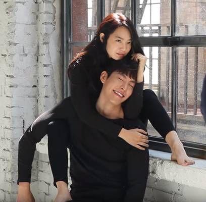 Shin Min Ah Kim Woo Bin dating