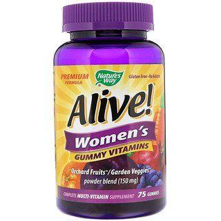 Nature S Way Alive Women S Vitamins 75 Gummies Iherb Vitamins For Women Vitamins Gummy Vitamins