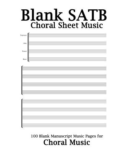 Blank Sheet Music For Bass Guitar Purple Cover, 100 Blan   - blank sheet of paper with lines