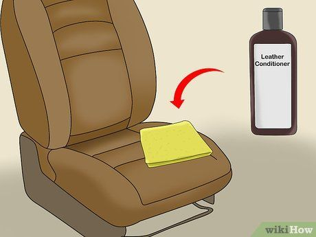 How To Clean Leather Car Seats Cleaning Leather Car Seats Leather Car Seats Clean Car Seats