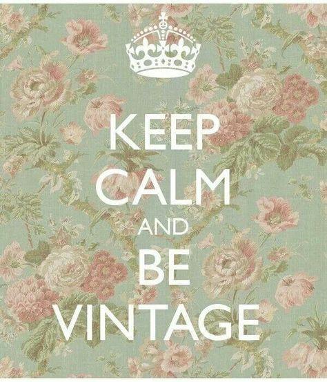 Be Vintage!