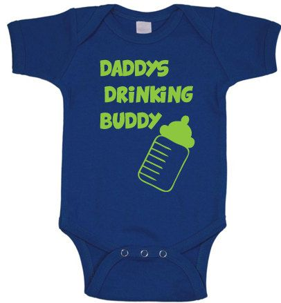 daddys drinking buddy infant one piece baby clothes boy girl cute funny vintage retro newborn 03 36 612 months on etsy pinterest