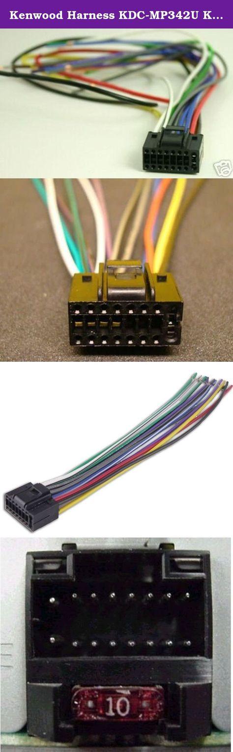 Kenwood Harness Kdc Mp342u Kdc Mp345u Ddx 318 Ddx 319 Ddx 418 Ddx 419 Ddx 719 Xtenzi 16 Pin Wire Harness For Kenwood Select R Kenwood Metra Harness