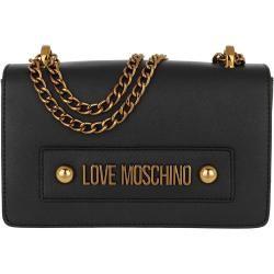 Love Moschino Borsa Shoulder Bag Chain Nero In Schwarz Umhangetasche Fur Damen Moschinomoschino Schultertasche Taschen Und Kunstleder